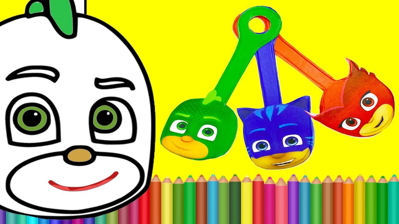 Новые Скрепыши раскраска. Герои в масках раскраска Геко. #скрепыши #раскраска #героивмасках