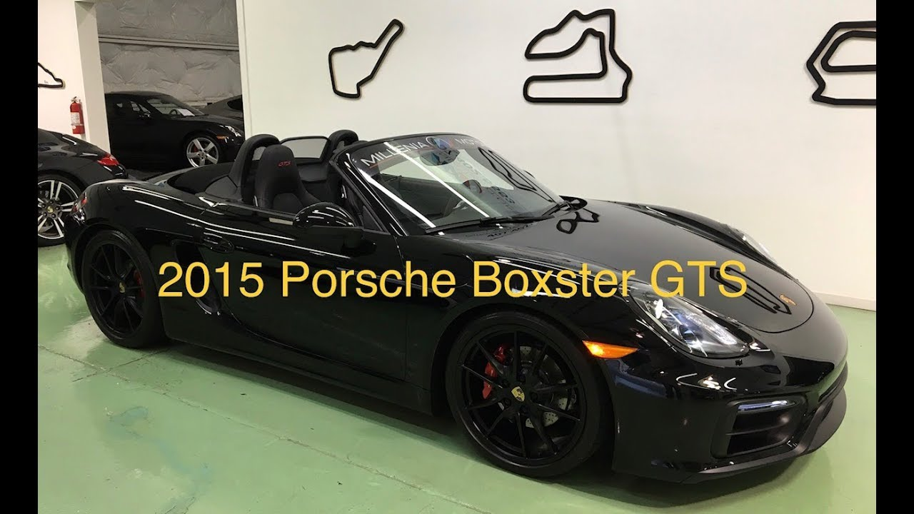 2015 Porsche Boxster Gts For Sale In Longwood Florida Youtube