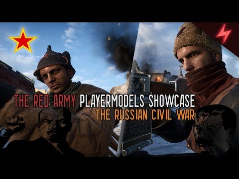Battlefield 1- The Red Army Playermodel Showcase