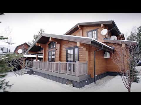 Деревянный дом из клееного бруса GOOD WOOD 395,5 кв.м.
