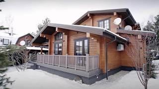 видео Проекты деревянных домов из клееного бруса