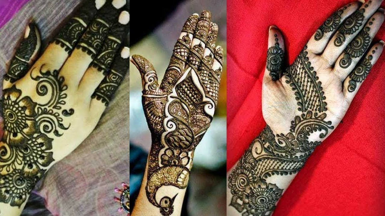 Unique Stylish And Fancy Mehndi Designs Henna 2018 Youtube
