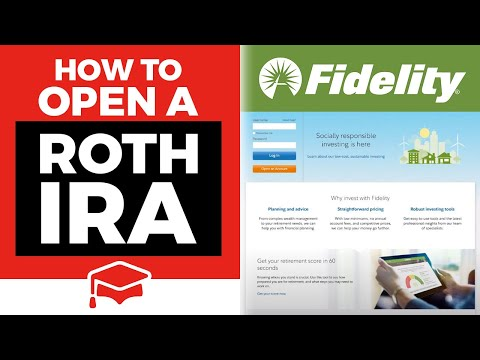 Ira Investment Choices Fidelity >> How To Open A Roth Ira At Fidelity Youtube