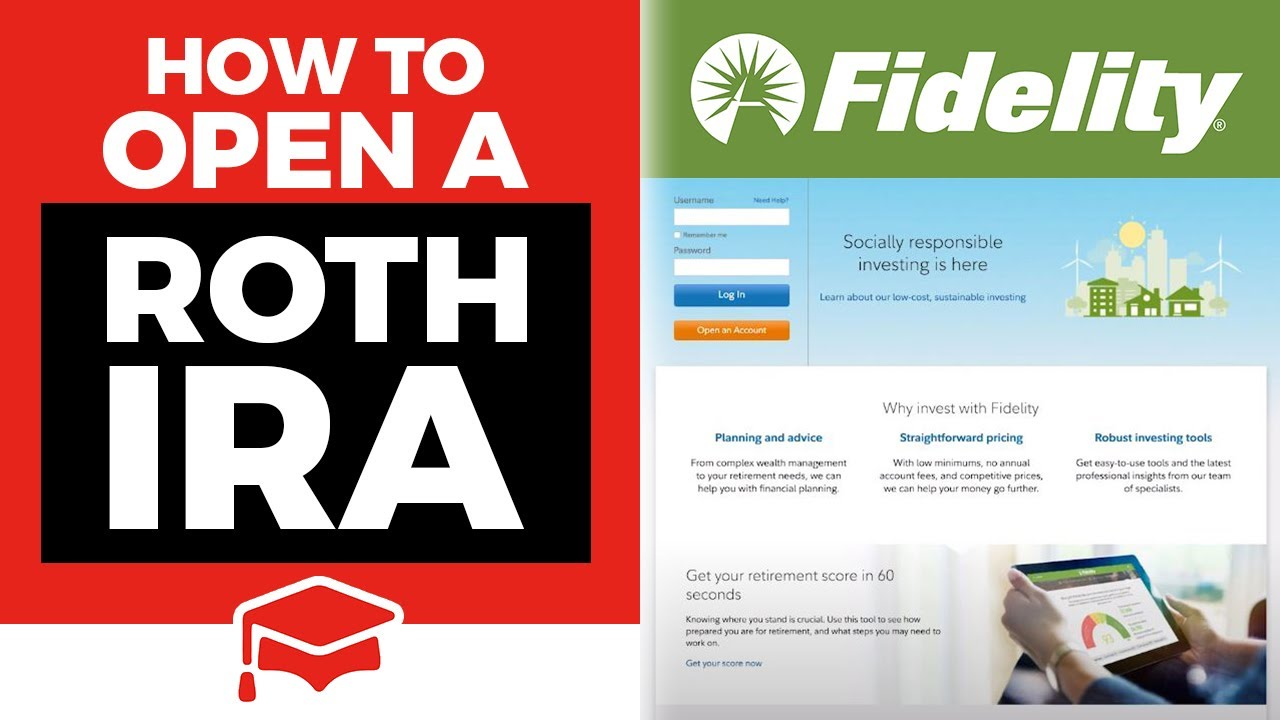 Self Directed Ira Fidelity >> How To Open A Roth Ira At Fidelity Youtube