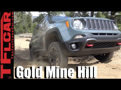 2016 Jeep Renegade takes on the Gold Mine Hill Off-Road Review