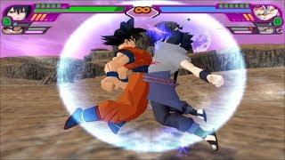 Dragon Ball Z Budokai Tenkaichi 3 - Goku and Sasuke Uchiha Fusion Potara | Gosuke (MOD) PS2