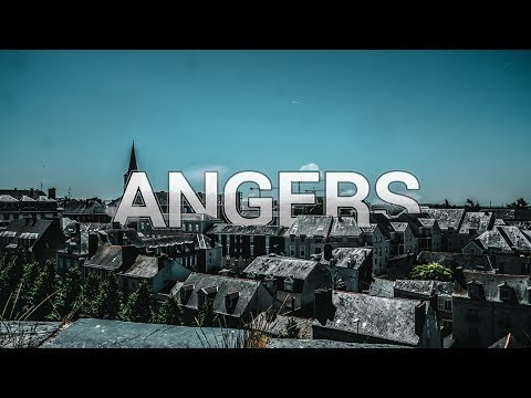 VISITE D'ANGERS [4K]