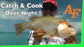Catch and Cook Overnight fishing trip Andy Fisher man EP.342
