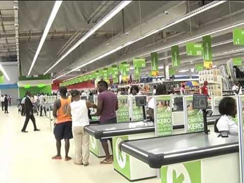 Cadeia de supermercados Kero abre oitava loja em Cacuaco | tv zimbo |