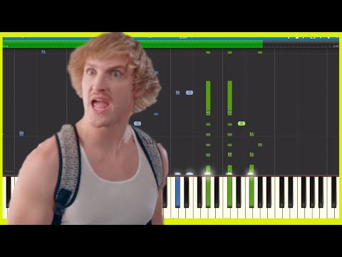 Logan Paul  No Handlebars  Piano Tutorial