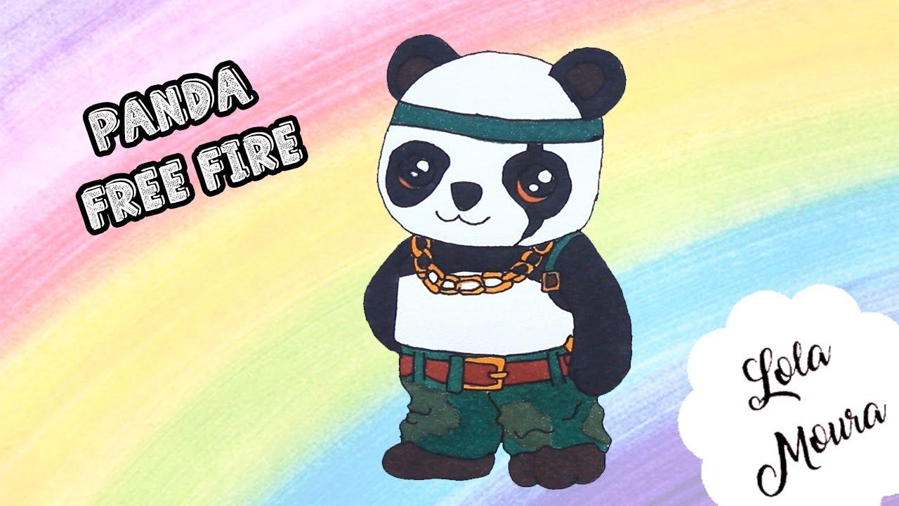 Panda Do Free Fire Desenho Youtube