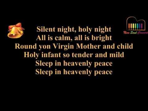 Silent night (with lyrics)