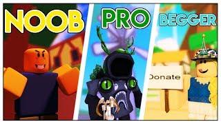 NOOB vs PRO vs BEGGER in PET RANCH SIMULATOR *FUNNY* (Roblox)