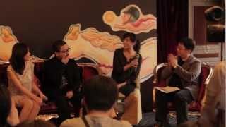 2012年11月10日金馬國際影展邀請《希望之國》導演園子溫以及女主角兼導...
