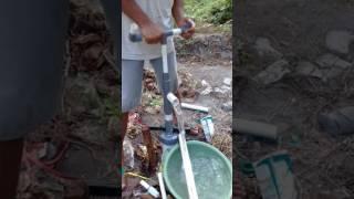 DIY membuat pompa air dari pipa paralon