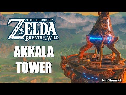 COMO ESCALAR A AKKALA TOWER - THE LEGEND OF ZELDA BREATH OF THE WILD