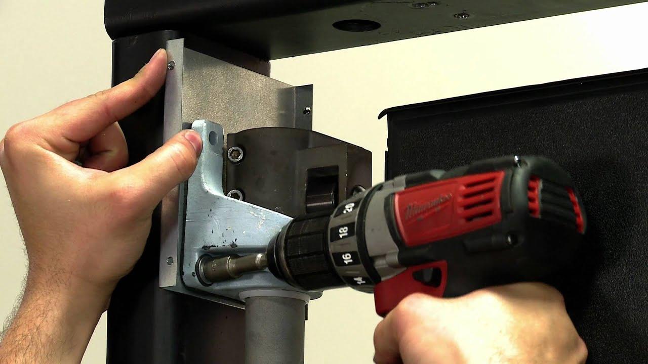 7 Steps To Install An Eliason V Cam Door Youtube