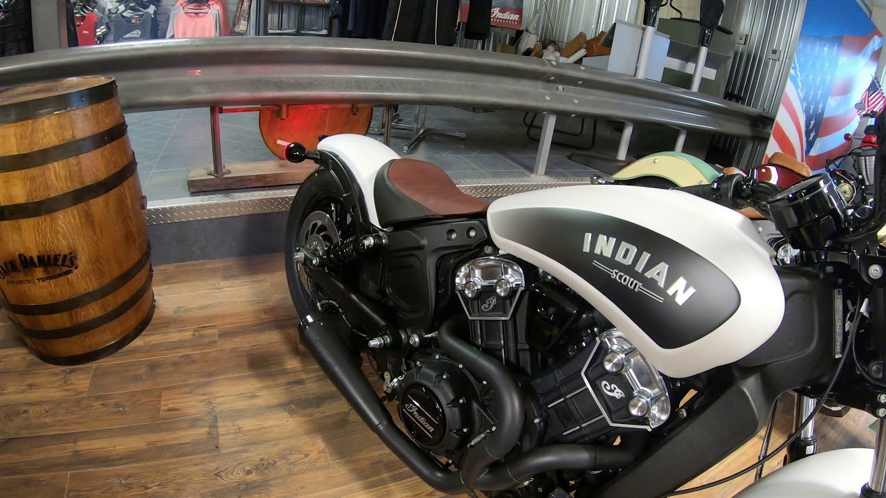 2019 Indian Scout Bobber Two Brothers Racing exhaust