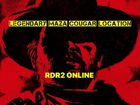 RED DEAD ONLINE Easy Sample MAZA COUGAR Naturalist Co-Op Mission Protect Legendary Animal from YouTube · Duration:  5 minutes 37 seconds