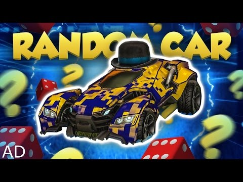 Thumbnail: ROCKET LEAGUE RANDOM CAR CHALLENGE!