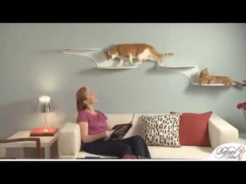 Cat Furniture: Cloud Shelf
