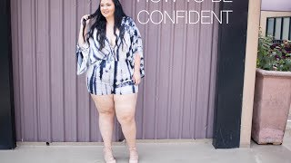 HOW TO BE CONFIDENT ... no, really. Also MORE BOOHOO!
