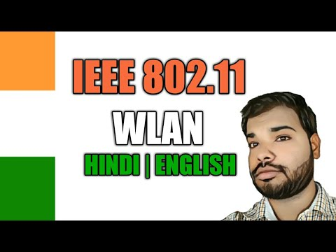 Wireless communication Lecture - - IEEE 802.11 Architecture | Services (Hindi) By Rahul Sahani