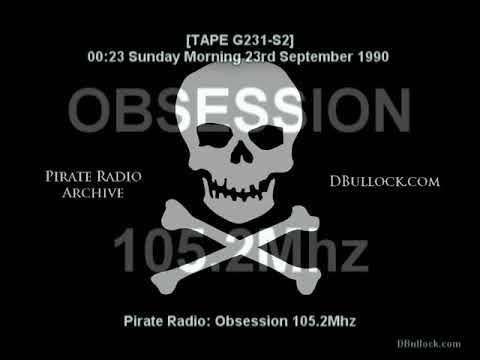 [G231-S2] Obsession 107.2Mhz ~ 23/09/1990 ~ Pirate Radio