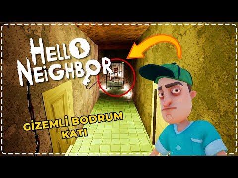 YENİ GİZEMLİ BODRUM KATI! | Hello Neighbor Mod [Türkçe] #158