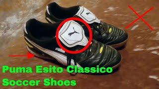 ✅  How To Use Puma Esito Classico Soccer Shoes Review