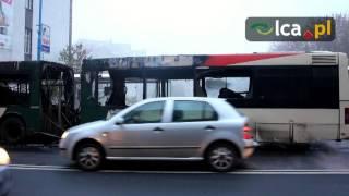 Spalił się autobus MPK
