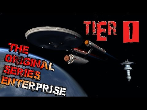 The Original Series Enterprise (NCC-1701) [T1] with all ship visuals - Star Trek Online