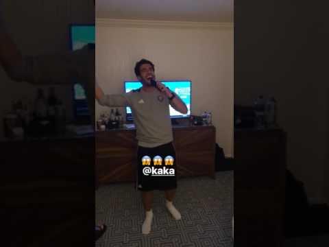 Kakà canta al karaoke dell'Orlando City!