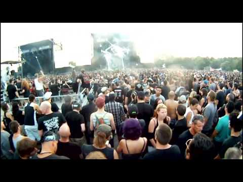 Lamb Of God heavy montreal 2014 Inside the Trash ( GOPRO )