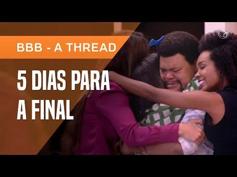 MARI É ELIMINADA E TOP 4 FICA ENTRE AMIGOS: BABU, THELMA, RAFA E MANU   BBB, A THREAD #18