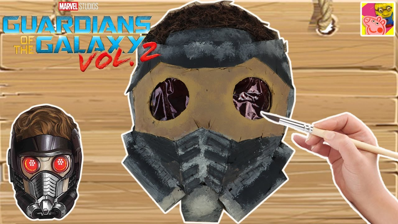Childrens Guardians of The Galaxy Starlord Mask