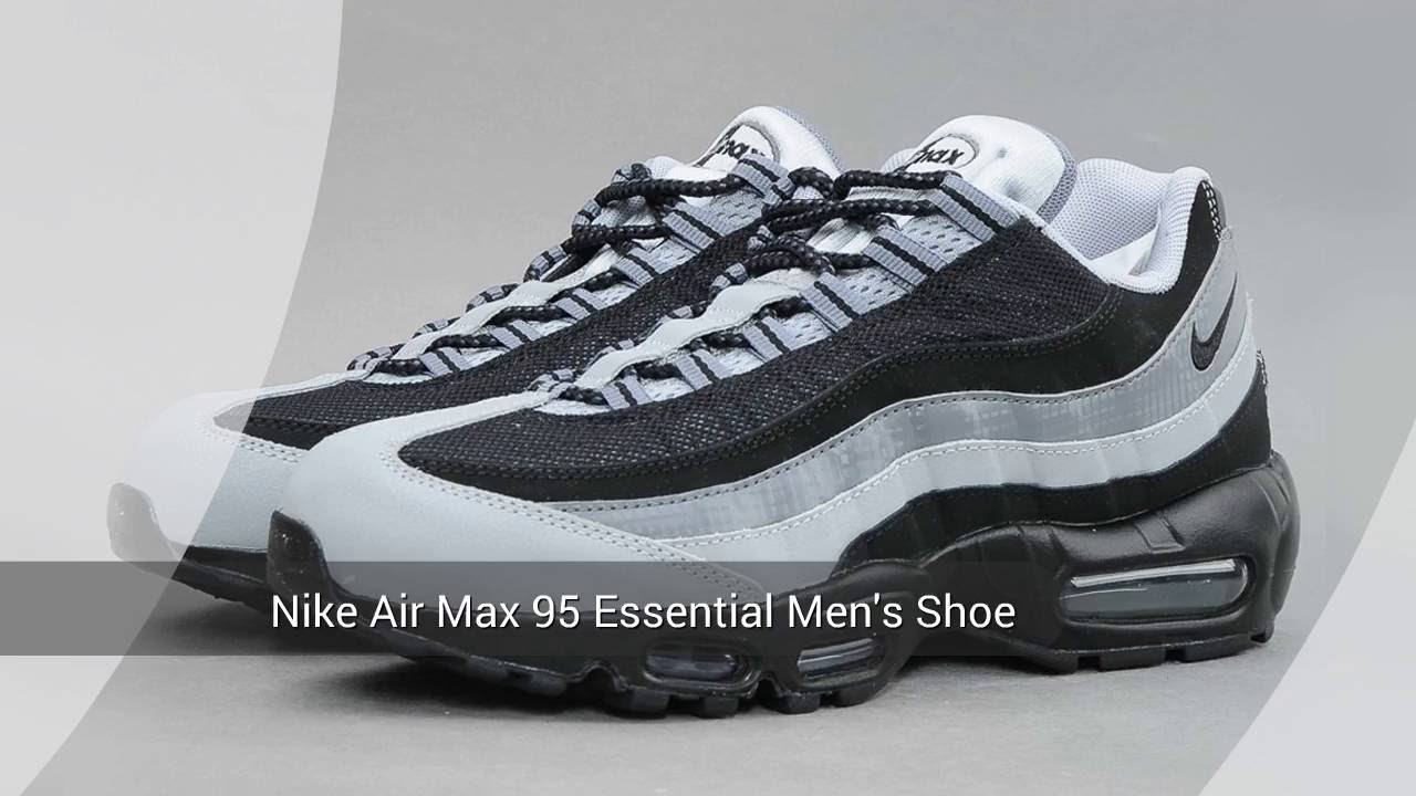 nike men's air max 95 essential leather trainers