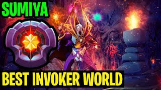 Best Invoker World - Sumiya 7.19 Patch - Dota 2