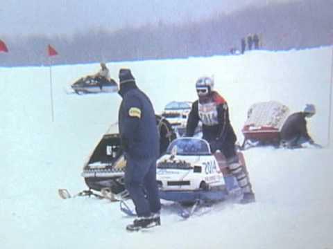 1971 Eastern Snowmobile Race Worthington, MA