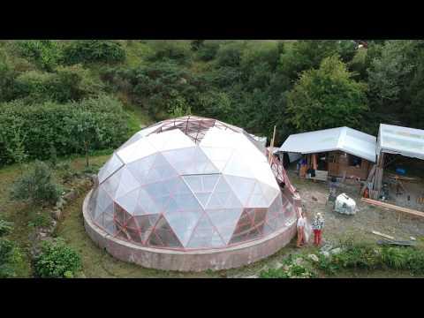 12m Dome build - mysti mountaine hopp.com it's a big one