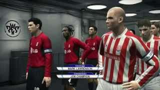 PES 10 Be A Legend: Fulham vs Stoke City, Second Season, Game 26