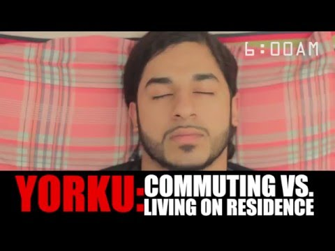 Commuting vs. Living at York University