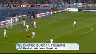 Video Gol Pertandingan Napoli vs Dnipro Dnipropetrovsk