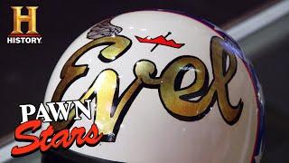 Pawn Stars: ICONIC Evel Knievel Helmet is Too Good To Be True (Season 18) | History