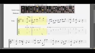 [Guitar TAB] Trái tim bên lề