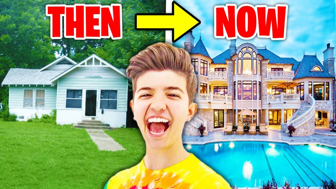 Download 6 YouTubers Houses Then And Now! (Preston, Morgz, Ali-A, DanTDM)
