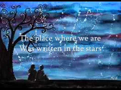 written in the stars (lyrics)- westlife