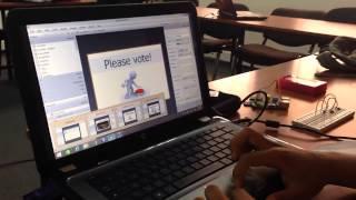 Oracle IoT developer challenge - MoroccoJUG team: Conferencesvoting System