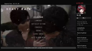 HEAVY RAIN - PART TWO [Pt 1]