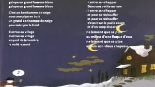 chanson pour enfants l'hiver